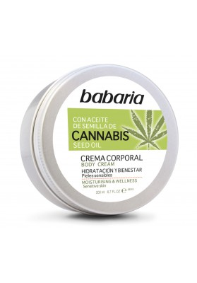 BABARIA CANNABIS CREMA CORPORAL 200 ML