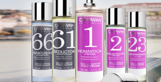A qué perfumes equivalen las fragancias Caravan