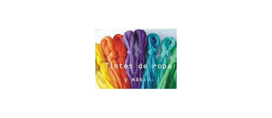 Tintes textiles